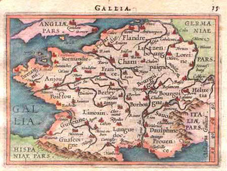 Map Of France 1600.Acadian Cajun Genealogy French Map C 1600