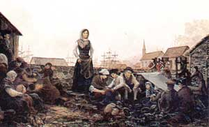 ACADIAN REFUGEES: LIVERPOOL, ENGLAND by Robert Dafford