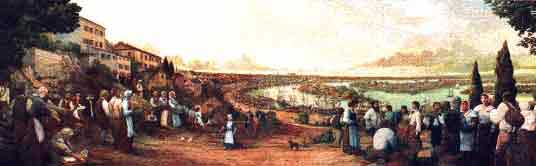 THE DEPARTURE OF THE ACADIANS FROM NANTES by Robert Dafford