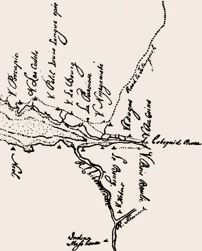 Cobequid area in the 1750s